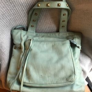 MZ Wallace blue leather Tote - Rare